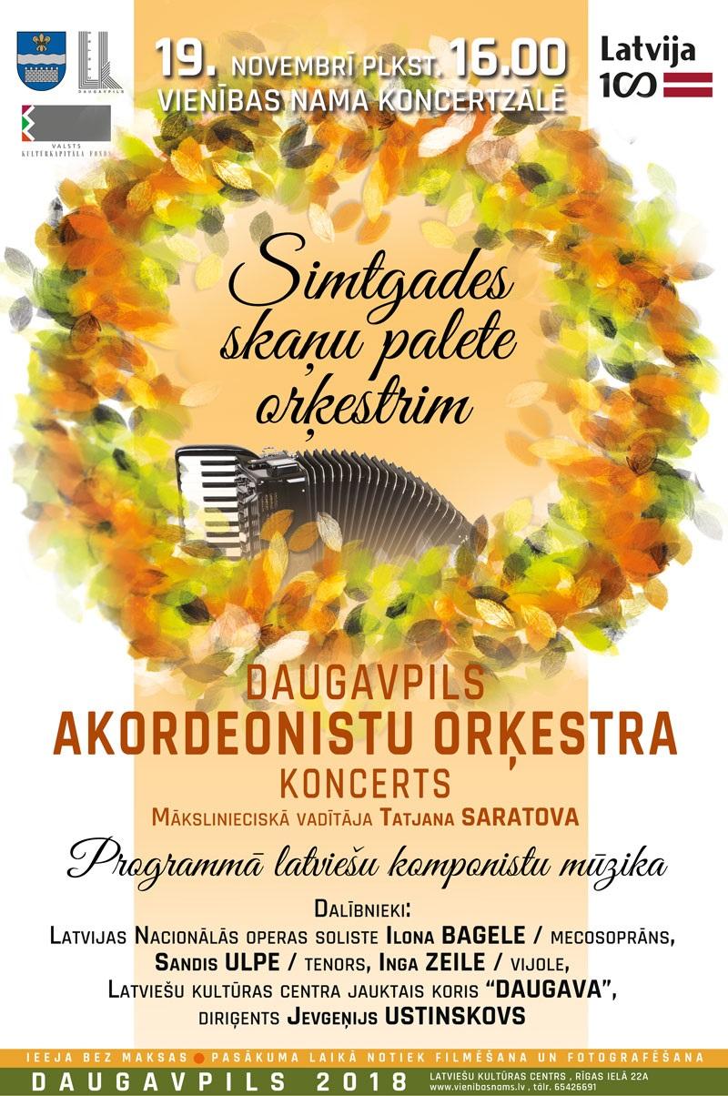 afisha akordeonistu orkestris 19.11.2018