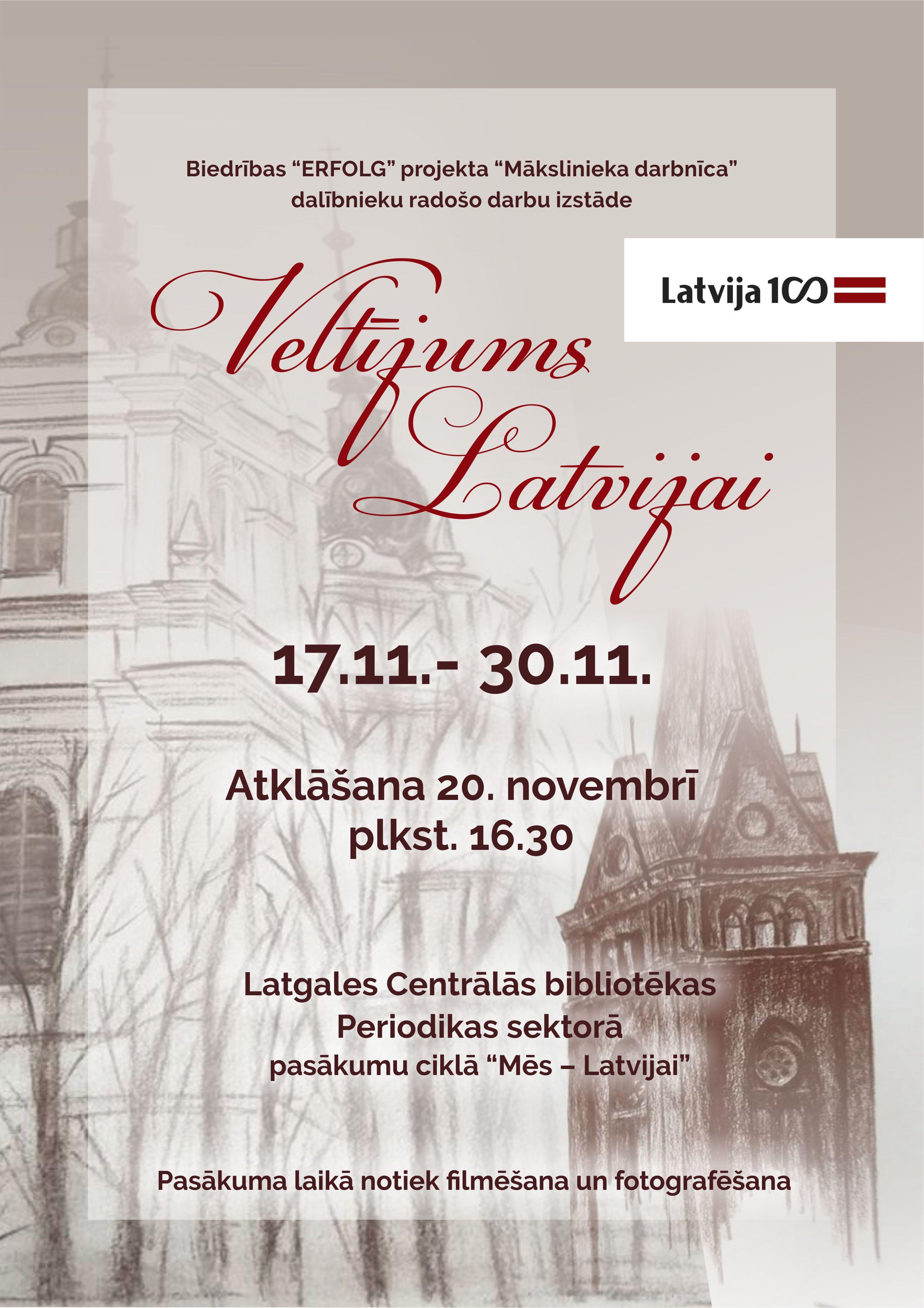 Afisa veltijums latvijai