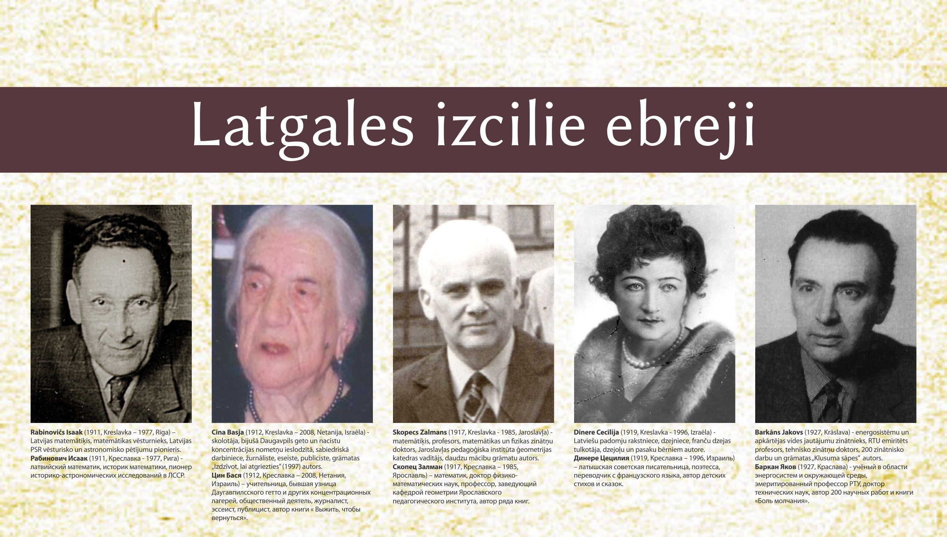 Publicitates foto latgales izcilie ebreji